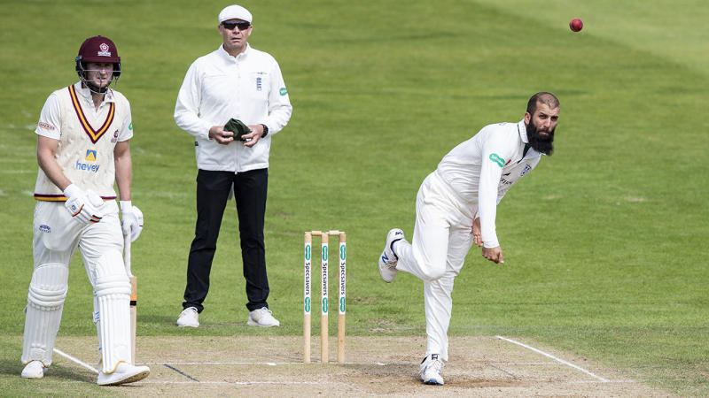 Moeen Ali, pictured here in action for Worcestershire. (Photo by Andy Kearns/Getty Images)
