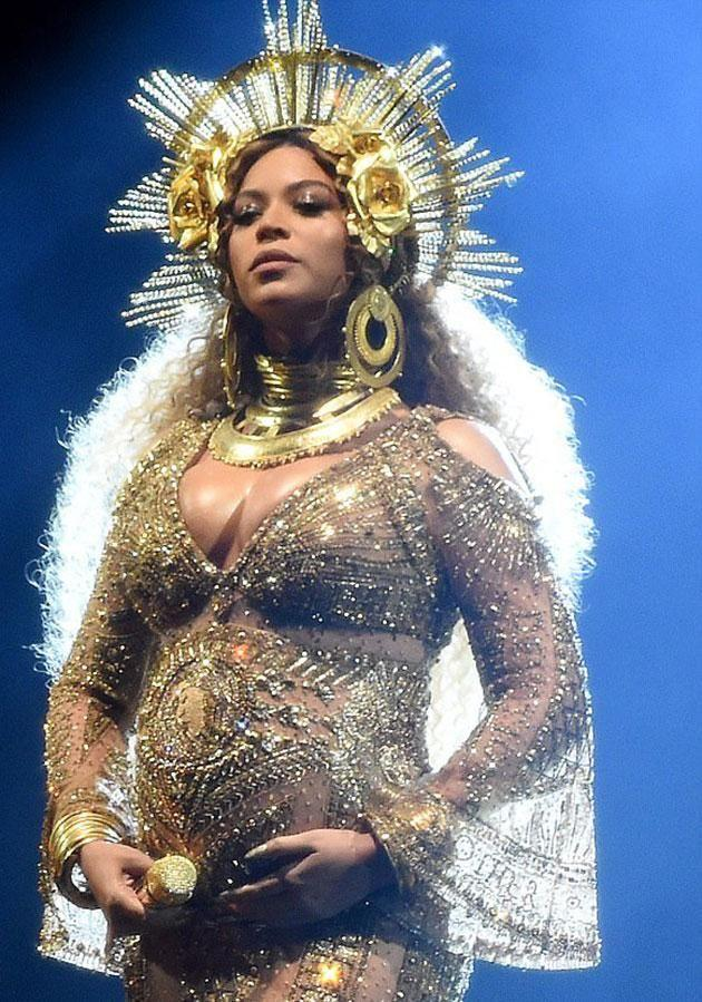 There was fevered speculation Beyonce was at an LA hospital to give birth on Tuesday. Source: Getty