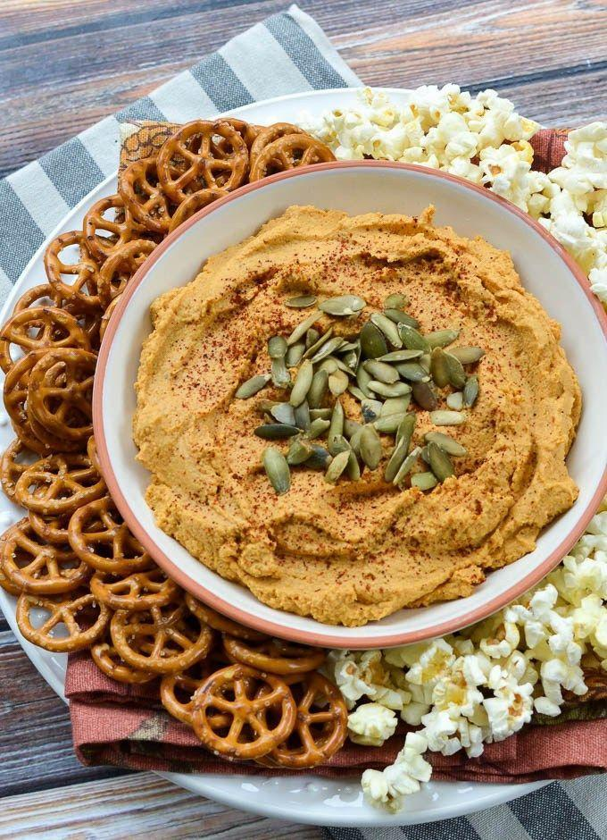 """<p>You might need to make a double batch of this dip—it's <em>that </em>good.</p><p><strong>Get the recipe at <a href=""""http://theeverykitchen.com/5-minute-smoky-pumpkin-hummus/"""" rel=""""nofollow noopener"""" target=""""_blank"""" data-ylk=""""slk:The Every Kitchen"""" class=""""link rapid-noclick-resp"""">The Every Kitchen</a>.</strong></p><p><strong><a class=""""link rapid-noclick-resp"""" href=""""https://www.amazon.com/Hamilton-Beach-12-Cup-Processor-70725A/dp/B00KHLN7K2?tag=syn-yahoo-20&ascsubtag=%5Bartid%7C10050.g.619%5Bsrc%7Cyahoo-us"""" rel=""""nofollow noopener"""" target=""""_blank"""" data-ylk=""""slk:SHOP FOOD PROCESSORS"""">SHOP FOOD PROCESSORS</a><br></strong></p>"""