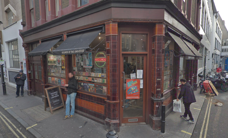 Sounds of the Universe is a Soho staple for vinyl lovers. (Google Maps)