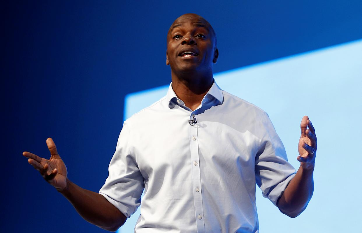 Shaun Bailey, candidate for the London mayoral election. (Reuters)