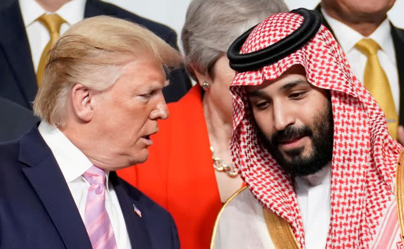 Special Report: Trump told Saudis: Cut oil supply or lose U.S. military support - sources
