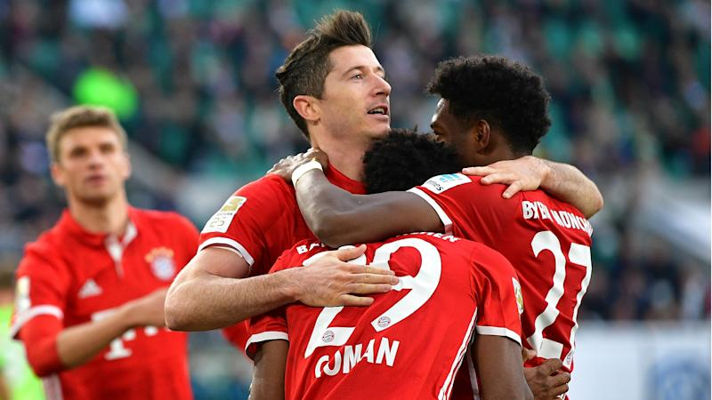 Bayern Munich secure Bundesliga title for fifth year in a row