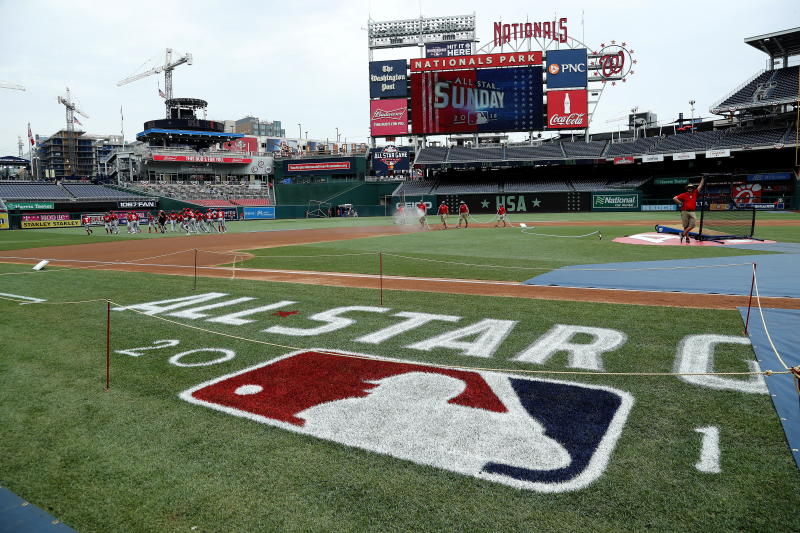 Nationals Park in Washington D.C. hosts this year's MLB All-Star game. (EFE)