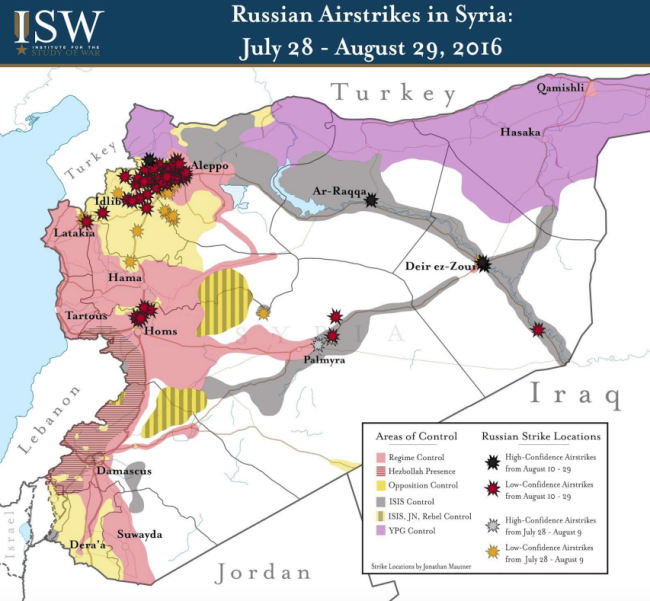 ISW Syria map