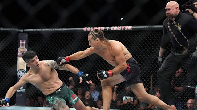 Follow along with results and highlights from UFC Fight Night Sacramento at Golden 1 Center.