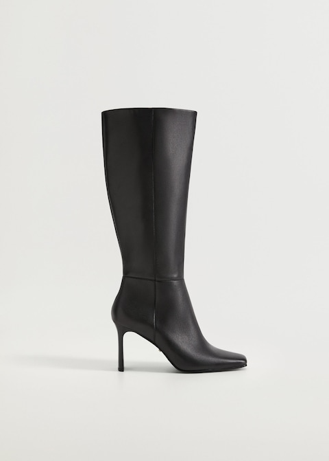 "<br><br><strong>Violeta By Mango</strong> Leather High Leg Boots, $, available at <a href=""https://go.skimresources.com/?id=30283X879131&url=https%3A%2F%2Fshop.mango.com%2Fus%2Fplus-size%2Fshoes-boots-and-booties%2Fleather-high-leg-boots_77034008.html"" rel=""nofollow noopener"" target=""_blank"" data-ylk=""slk:Mango"" class=""link rapid-noclick-resp"">Mango</a>"