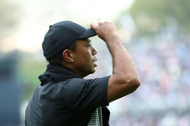Tiger Woods' missed cut at the PGA Championship marks an unfortunate career first for the 15-time major champion.