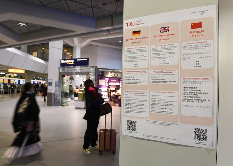 Man in Germany contracts coronavirus in one of first cases of transmission outside China