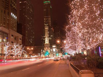 The Magnificent Mile Association will not produce a live parade for one million visitors this year, but one million lights will still shine in the district through holiday season and the winter. The tree-lighting will be featured in a Lights Festival TV special on ABC7 Chicago on Sunday, November 22 at 6:00 PM (CT), including a special greeting from Mickey Mouse & Minnie Mouse at Walt Disney World.