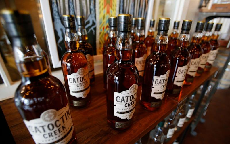 Bourbon was among the products to be hit with a tariff - AP