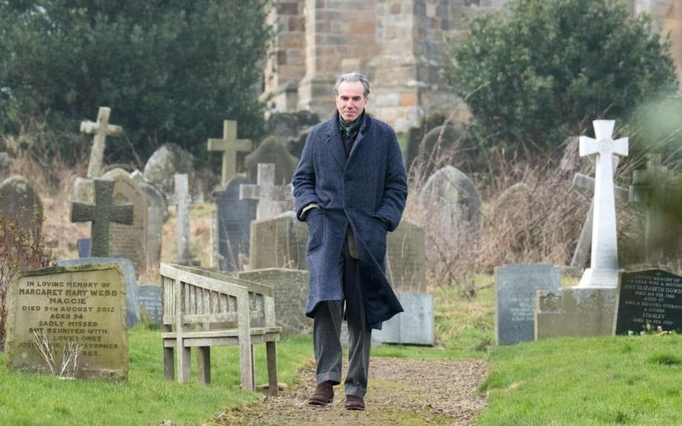 <p>If Daniel Day-Lewis is, as he claims, retiring from acting after <em>Phantom Thread</em>, then he goes out on top, delivering an expertly nuanced portrait of consuming desire and fastidious neediness as a celebrated dressmaker who falls into a relationship with a waitress (newcomer Vicky Krieps). Paul Thomas Anderson's silky direction only enhances the graceful refinement, and twisted passion, of this unconventional romance, which is as sumptuous as it is spiky. — <em>N.S. </em>(Photo: Focus Film) </p>