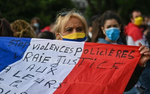 """The French police are under increasing pressure with President Macron urging his government to """"accelerate"""" steps to improve police ethics"""