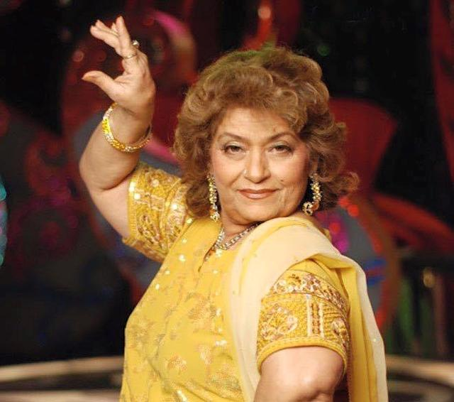 <p>The original Masterji of Bollywood, Saroj Khan has been working as an independent choreographer since mid-70s. She has trained ace actresses like Vyjayanthimala, Sridevi, and Madhuri and actresses across generations revere Saroj Khan for chiseling out the graceful dancer in them. Though she got embroiled in some unsavory controversies recently, she had the industry stand by her as a rock. </p>