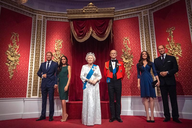 The Blast shares news Madame Tussauds removed Prince Harry and Meghan Markle's wax figures from Royal display