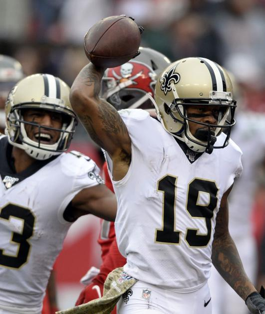 Saints WR Ted Ginn sets a record vs. the Bucs -- the same one Michael Thomas recently did