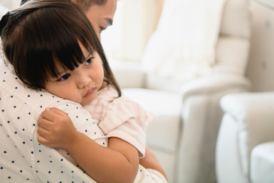 Small children need reassurance that they had nothing to do with this separation and that their parents will always love them. (Photo: JohnnyGreig via Getty Images)
