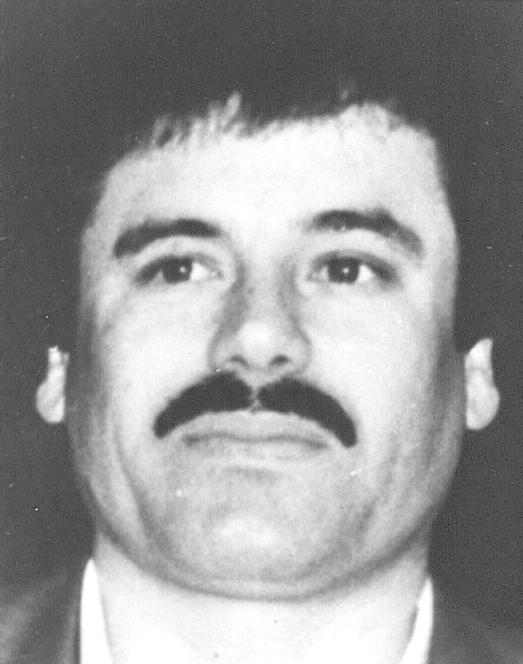 "This undated image released by Mexico's Attorney General's Office on May 31, 1993, shows Drug lord Joaquin Guzman Loera, alias ""El Chapo Guzman"" at an undisclosed location. Guzman was included in Forbes last list of billionaires. The magazine estimates his worth at $1 billion, number 701 on the list. (AP Photo/Procuraduria General de la Republica)"