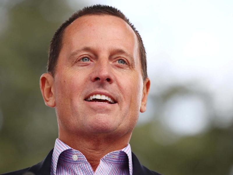 "Richard Grenell, US ambassador to Germany, attends the ""Rally for Equal Rights at the United Nations (Protesting Anti-Israeli Bias)"": REUTERS"