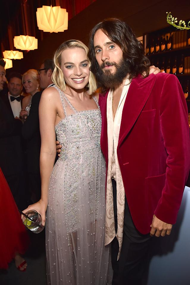 <p>Harley Quinn and the Joker reunited at the <em>Vanity Fair</em> party. (Photo: Kevin Mazur/VF18/WireImage) </p>