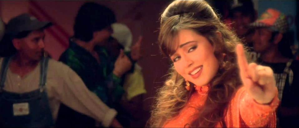 90s musical <em>Pardes </em>narrated a pleasant love story with NRI and <em>desi </em>aspects woven beautifully into the story-line. Mahima, though new, did a fantastic job as Ganga, a young girl from rural India, and her on-screen chemistry with Shah Rukh Khan was widely applauded. For a girl who had noone in the industry, <em>Pardes </em>was a dream debut for the actress.