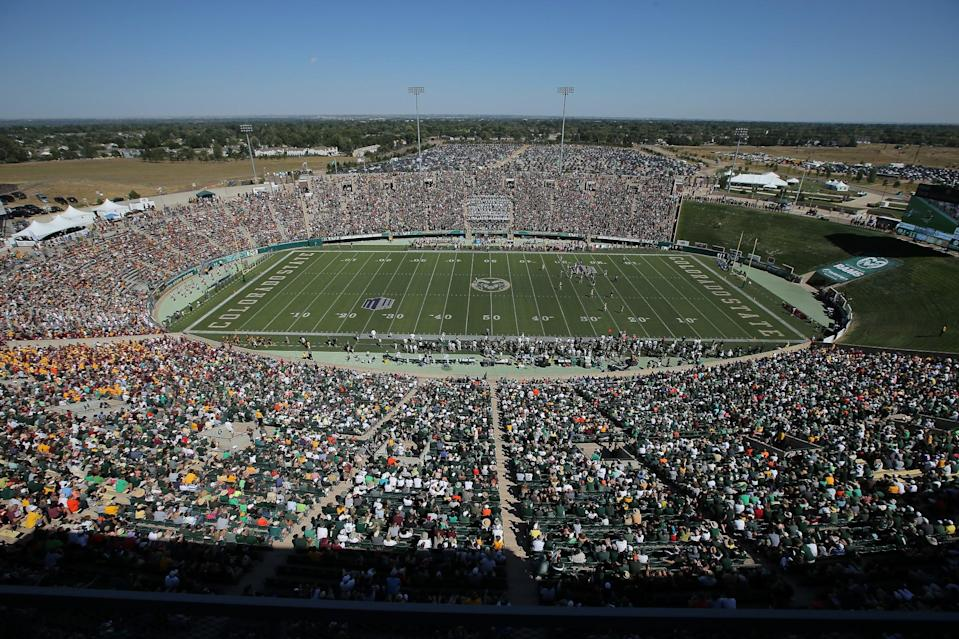 Hughes Stadium is being replaced (Getty Images).