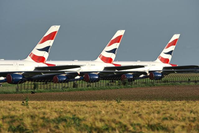 Airlines have been hit hard by the coronavirus lockdowns. Photo: GUILLAUME SOUVANT/AFP via Getty Images