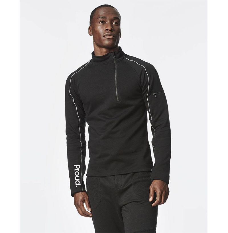 """<p><strong>Proud</strong></p><p>wearproud.com</p><p><strong>$78.00</strong></p><p><a href=""""https://wearproud.com/collections/men/products/be-strong-pullover-jacket-black"""" rel=""""nofollow noopener"""" target=""""_blank"""" data-ylk=""""slk:Buy"""" class=""""link rapid-noclick-resp"""">Buy</a></p><p>With any purchase made from Proud's website, 10 percent (pre-tax) will be donated to the customer's charity of choice, including <a href=""""https://www.stjude.org/promotion/impact-giving-pm.html?sc_dcm=254910854&sc_cid=kwp73482&source_code=IIQ181010008&gclid=CjwKCAjwxev3BRBBEiwAiB_PWNyNyTtiPme2pST5wc1AJYYzxUKtojvGaalfqGsKOjfQ9y8gIrTTARoCLr8QAvD_BwE"""" rel=""""nofollow noopener"""" target=""""_blank"""" data-ylk=""""slk:St. Jude Children's Research Hospital"""" class=""""link rapid-noclick-resp"""">St. Jude Children's Research Hospital</a>, <a href=""""https://www.pinkribbongirls.org/"""" rel=""""nofollow noopener"""" target=""""_blank"""" data-ylk=""""slk:Pink Ribbon Girls"""" class=""""link rapid-noclick-resp"""">Pink Ribbon Girls</a>, <a href=""""https://baby2baby.org/"""" rel=""""nofollow noopener"""" target=""""_blank"""" data-ylk=""""slk:Baby2Baby"""" class=""""link rapid-noclick-resp"""">Baby2Baby</a>, <a href=""""https://www.offthestreetclub.com/"""" rel=""""nofollow noopener"""" target=""""_blank"""" data-ylk=""""slk:Off The Street Club"""" class=""""link rapid-noclick-resp"""">Off The Street Club</a>, and the <a href=""""https://rezvanfoundation.com/"""" rel=""""nofollow noopener"""" target=""""_blank"""" data-ylk=""""slk:Rezvan Foundation"""" class=""""link rapid-noclick-resp"""">Rezvan Foundation</a>. </p>"""