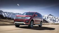 "<p>Sometimes off-roading is more about the ambiance than the challenge. The <a href=""https://www.caranddriver.com/ford/expedition-expedition-max"" rel=""nofollow noopener"" target=""_blank"" data-ylk=""slk:Ford Expedition"" class=""link rapid-noclick-resp"">Ford Expedition</a>, for example, is the only one on this list with 15 cupholders. The <a href=""https://www.caranddriver.com/news/a30259233/2020-ford-expedition-limited-fx4-off-road-package/"" rel=""nofollow noopener"" target=""_blank"" data-ylk=""slk:FX4 trim"" class=""link rapid-noclick-resp"">FX4 trim</a> also includes upgraded front and rear dampers, an electronic limited-slip differential with a 3.73:1 rear-axle ratio, a heavy-duty engine radiator, and a two-speed transfer case. It's powered by a 375-hp 3.5-liter twin-turbo V-6 with a 10-speed automatic transmission. There are, of course, FX4 badges, as well as running boards (take them off) and 18-inch wheels wrapped in all-terrain tires. Underneath, skid plates protect the fuel tank and other vital components from hard objects.</p>"