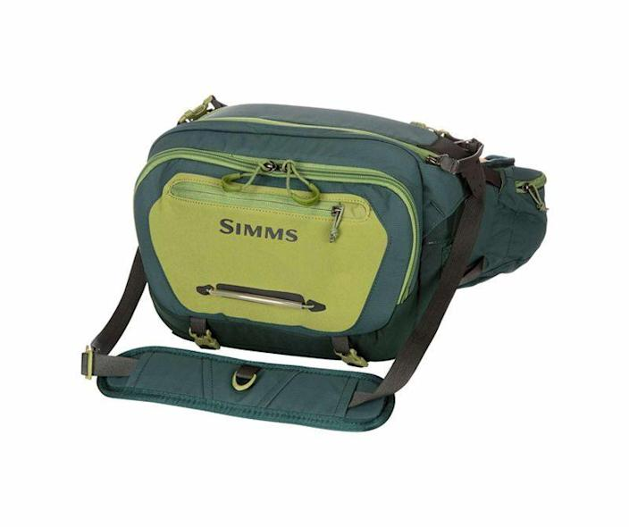 """<p><strong>Simms</strong></p><p>backcountry.com</p><p><strong>$139.95</strong></p><p><a href=""""https://go.redirectingat.com?id=74968X1596630&url=https%3A%2F%2Fwww.backcountry.com%2Fsimms-freestone-hip-pack&sref=https%3A%2F%2Fwww.popularmechanics.com%2Fadventure%2Foutdoor-gear%2Fg36123677%2Ffly-fishing-gear%2F"""" rel=""""nofollow noopener"""" target=""""_blank"""" data-ylk=""""slk:Buy Now"""" class=""""link rapid-noclick-resp"""">Buy Now</a></p><p>I've been using a Freestone Fishing Hip Pack for the past two seasons and have no intention of changing things up. With a 12-liter capacity, the water-resistant Freestone is large enough to hold at least two fly boxes, a sandwich, a small first-aid kit, and other personal effects. Then, on the outside, the pack has straps for securing a water bottle, three handy little side pockets for tippet and other odds and ends, and—perhaps most novel—a back-panel sleeve for securing a net. The <a href=""""https://go.redirectingat.com?id=74968X1596630&url=https%3A%2F%2Fwww.simmsfishing.com%2Fflyweight-pack-vest&sref=https%3A%2F%2Fwww.popularmechanics.com%2Fadventure%2Foutdoor-gear%2Fg36123677%2Ffly-fishing-gear%2F"""" rel=""""nofollow noopener"""" target=""""_blank"""" data-ylk=""""slk:Simms Flyweight Pack Fishing Vest"""" class=""""link rapid-noclick-resp"""">Simms Flyweight Pack Fishing Vest</a> is a good alternative if you have to hike deep into the backcountry to your favorite fishing spot.</p>"""