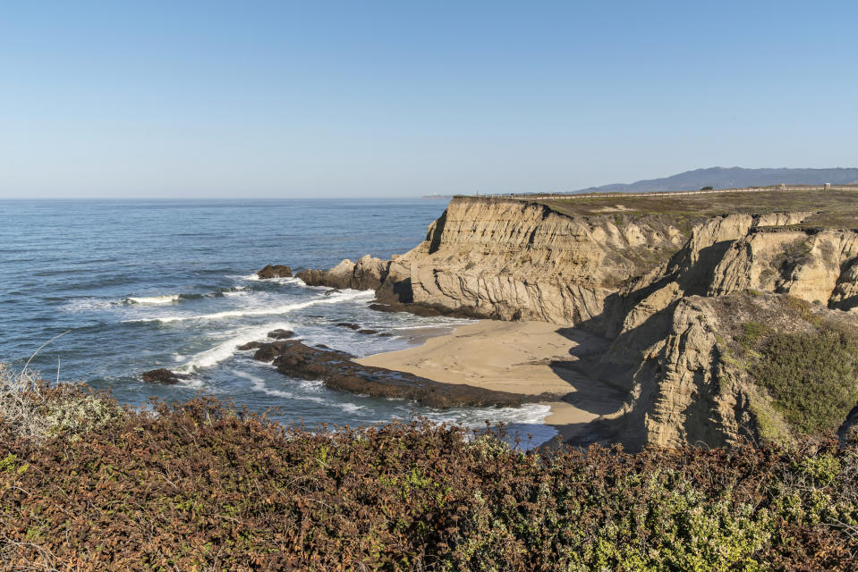Cowell Ranch State Beach in Half Moon Bay is pictured.