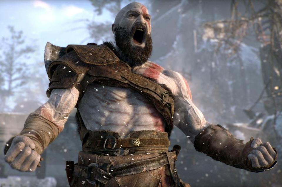 Kratos returns in 'God of War' for the PlayStation 4.