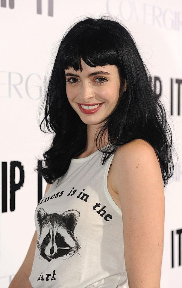 """<a href=""""http://movies.yahoo.com/movie/contributor/1808532777"""">Krysten Ritter</a> at the Los Angeles premiere of <a href=""""http://movies.yahoo.com/movie/1810036665/info"""">Whip It!</a> - 09/29/2009"""