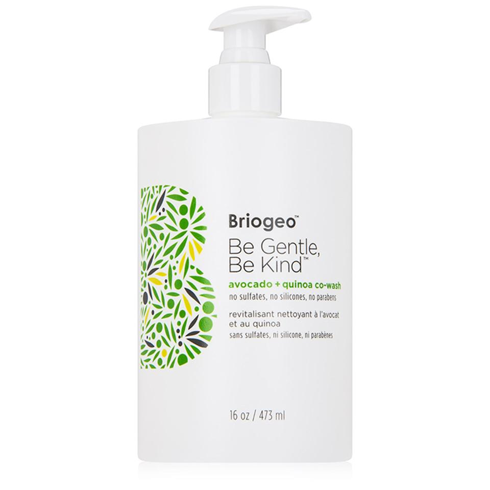 """<p>You know that squeaky-clean feeling you get from a fresh shampoo? Yeah, you should avoid that. Super foamy suds can actually strip your hair and rough up the cuticle, which leaves hair frizzy and parched. Instead, use a cleansing conditioner every few washes (you ultimately still <a rel=""""nofollow"""" href=""""https://www.allure.com/story/why-you-should-still-wash-your-hair?mbid=synd_yahoolife"""">need to shampoo</a> sometimes) to make your hair feel clean, without that stripped feeling. Try <a rel=""""nofollow"""" href=""""https://shop-links.co/1622339590338201557?mbid=synd_yahoolife"""">Briogeo Be Gentle, Be Kind Avocado and Quinoa Co-Wash</a>. It will leave your hair feeling cleansed and super soft.</p><p>$32 (<a rel=""""nofollow"""" href=""""https://shop-links.co/1622339590338201557?mbid=synd_yahoolife"""">Shop Now</a>)</p>"""
