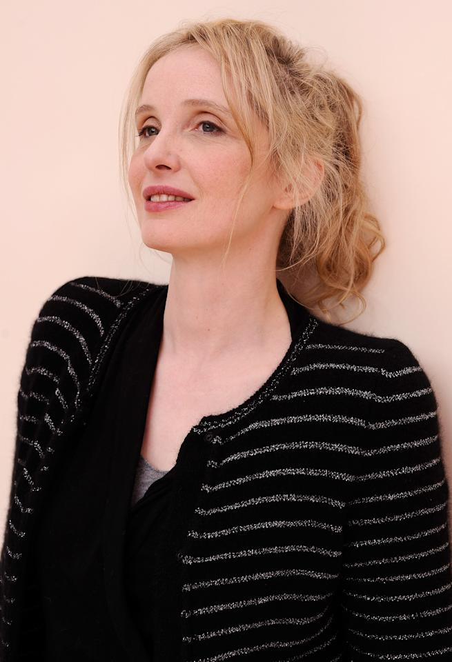 PARK CITY, UT - JANUARY 24:  Actress/director/writer Julie Delpy poses for a portrait during the 2012 Sundance Film Festival at the Getty Images Portrait Studio at T-Mobile Village at the Lift on January 24, 2012 in Park City, Utah.  (Photo by Larry Busacca/Getty Images)