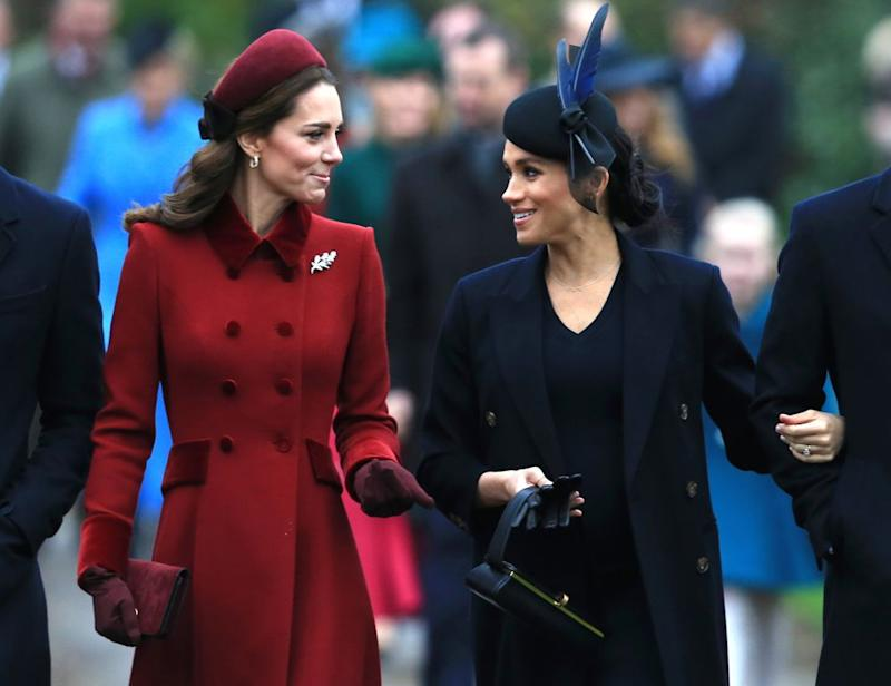 Kate Middleton and Meghan Markle | Stephen Pond/Getty Images