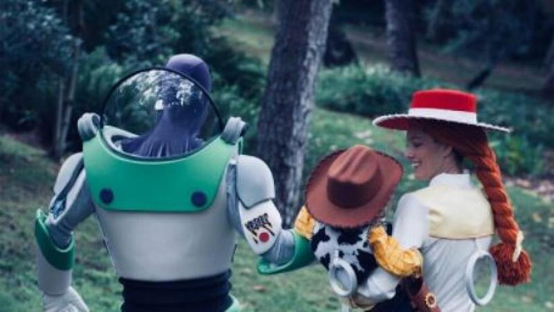Justin Timberlake and Jessica Biel Go 'Toy Story' in Adorable Family Halloween Costumes