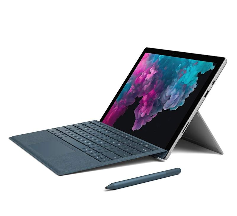 Feel like a pro at school with this Microsoft Surface Pro 6. (Photo: Amazon)