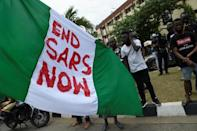 Protests erupted last year over the Special Anti-Robbery Squad (SARS), a notoriously brutal police unit