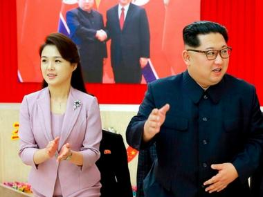 North Korean media accords Kim Jong-un's wife 'first lady' status ahead of South Korea and US meetings