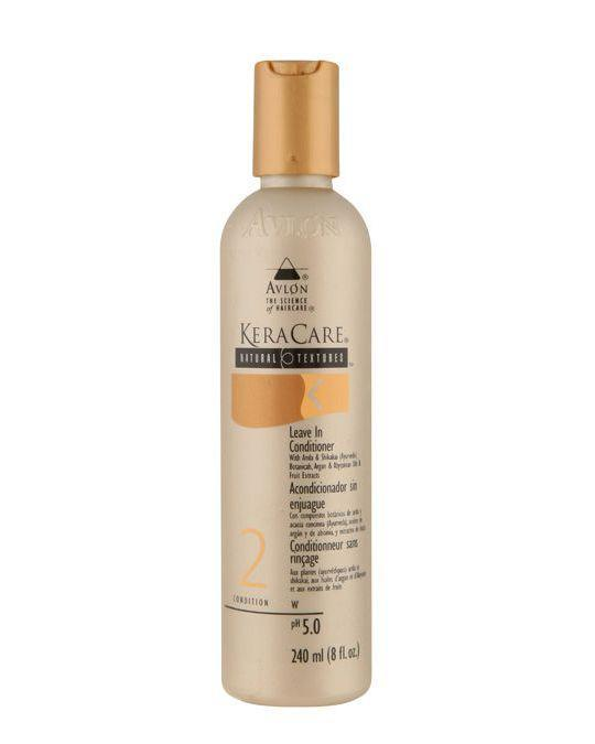 """<p><a href=""""https://www.lookfantastic.com/keracare-natural-textures-leave-in-conditioner-240ml/10574235.html"""" rel=""""nofollow noopener"""" target=""""_blank"""" data-ylk=""""slk:BUY"""" class=""""link rapid-noclick-resp"""">BUY</a></p><p>This highly concentrated formula packs quite the punch and does a great job of tempering unruly curls. While the conditioner helps with styling, it also promotes healthy hair and scalp. <br></p>"""