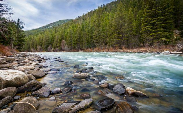 The 120-mile-long Gallatin River is one of three rivers that converge near Three Forks, Montana, to form the Missouri River. (Photo: Sarah Laird / 500px via Getty Images)
