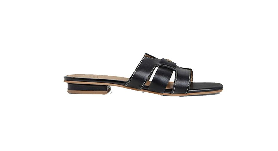John Lewis & Partners Loulou Leather Sliders