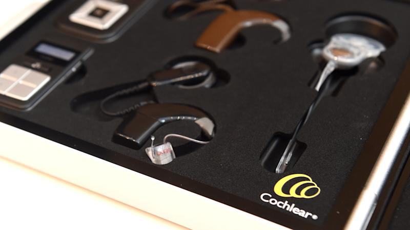 Glowing Cochlear result boosts shares