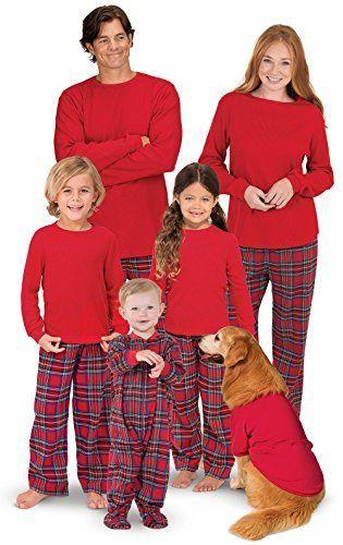 """<p><strong>PajamaGram</strong></p><p>amazon.com</p><p><strong>$22.99</strong></p><p><a href=""""https://www.amazon.com/dp/B01161NFFI?tag=syn-yahoo-20&ascsubtag=%5Bartid%7C10050.g.4956%5Bsrc%7Cyahoo-us"""" rel=""""nofollow noopener"""" target=""""_blank"""" data-ylk=""""slk:Shop Now"""" class=""""link rapid-noclick-resp"""">Shop Now</a></p><p>Just imagine your Christmas morning photos with everyone dressed in these cute pajamas.</p>"""