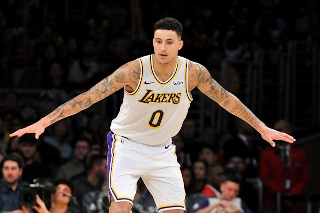Kyle Kuzma will be relied upon heavily on the new-look Lakers. (Photo by Allen Berezovsky/Getty Images,)