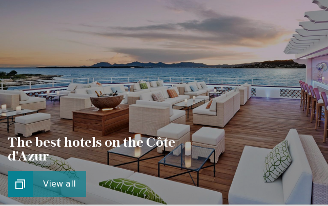 The best hotels on the Côte dAzur