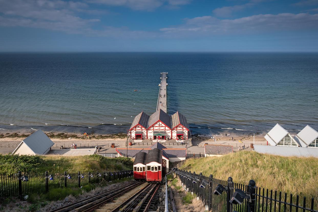 The view from the funicular in Saltburn by the Sea (Getty Images)