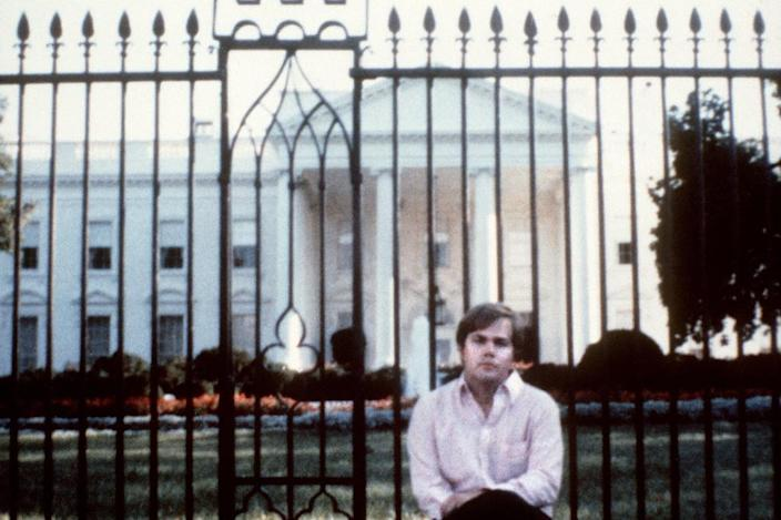 John Hinckley, the attempted assassin of US President Ronald Reagan, in Washington, D.C. on March 30, 1981 (AFP Photo/)