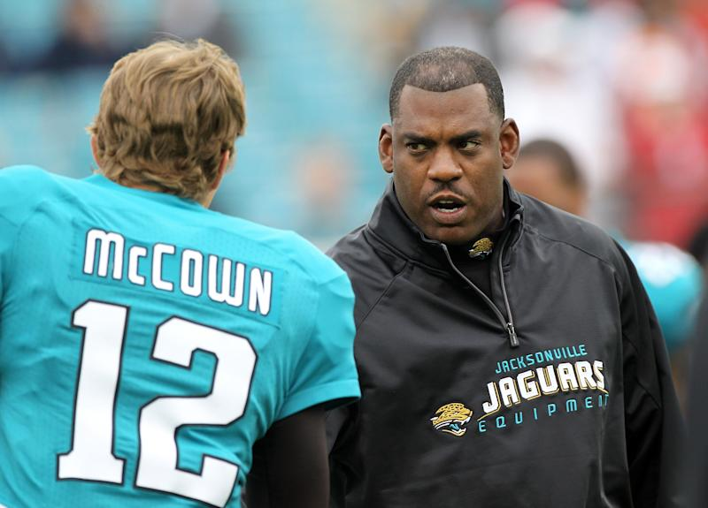 """Mel Tucker said of his five games as the Jacksonville Jaguars interim head coach in 2011: """"I mean these jobs are never easy, but that thing was incredibly challenging, to say the least."""""""